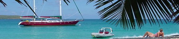 fully crewed Caribbean yacht vacations
