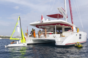 Muse Catamaran for BVI Yacht charters