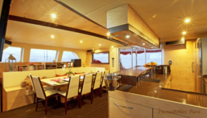 Muse catamaran for bvi charters