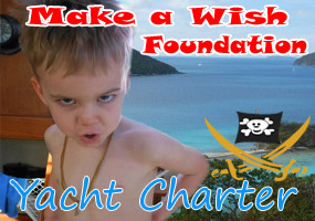 Make a wish foundation yacht charter